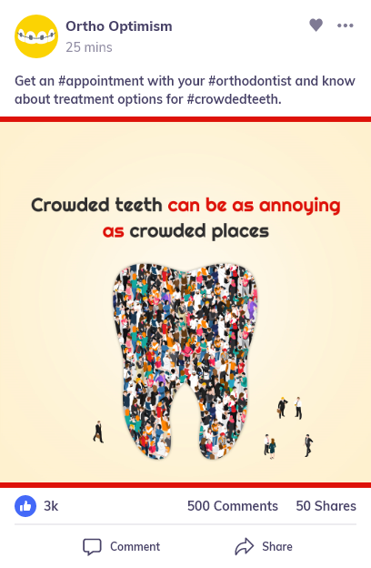 social media for orthodontist Practice