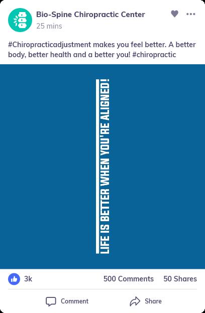 social media for Chiropractor Practice