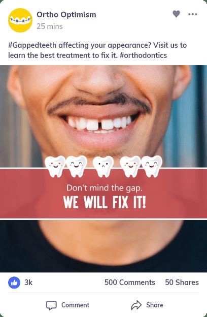 best orthodontist social media tool
