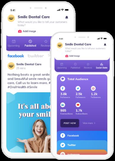 Dental Care Post Promotion